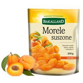 Morele Suszone Bakalland 400g torba