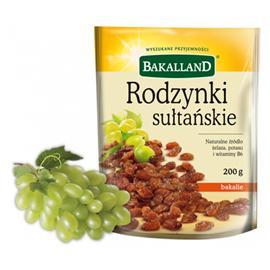 Rodzynki Sułtańskie Bakalland 500g torba