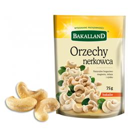 Orzechy Nerkowca Bakalland 75g torba
