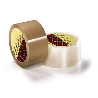 Taśma pakowa 371 Hot-Melt Scotch 50mm x 66m brąz-3641