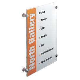 Durable Crystal Sign 297 x 420 mm
