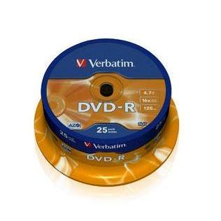 Dysk DVD-R Verbatim 4,7GB cake (25) 43522-148