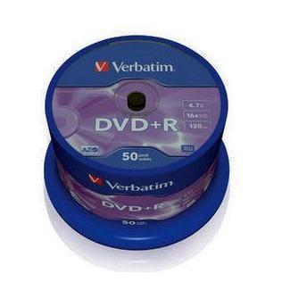 Dysk DVD R Verbatim 4,7GB cake (50) 43550-149