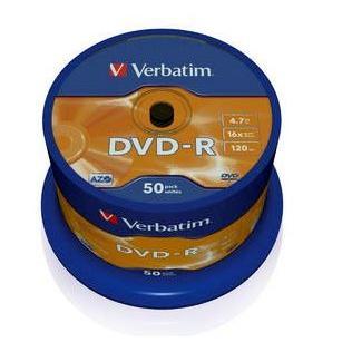 Dysk DVD-R Verbatim 4,7GB cake (50) 43548-150