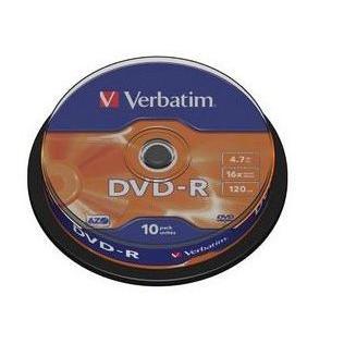 Dysk DVD-R Verbatim 4,7GB cake(10) 43523-165