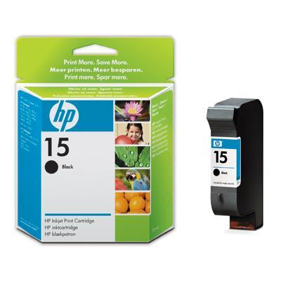 Tusz HP C6615DE czarny nr 15-4
