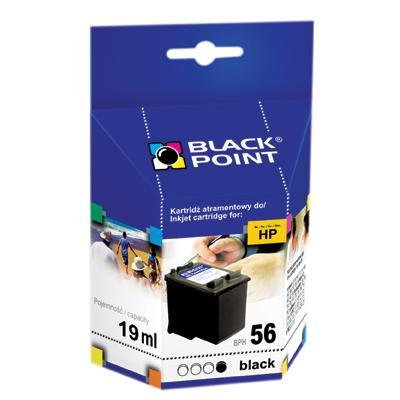 Tusz Black Point HP C6656, czarny 19 ml-27