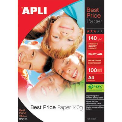 Papier fotograficzny Apli Best Price A4, 140g-807
