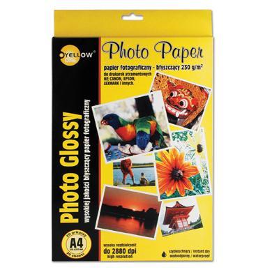 Papier fotograficzny Yellow One A4, 130g (B)-811