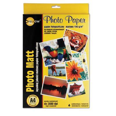Papier fotograficzny Yellow One A4, 140g (M)-812