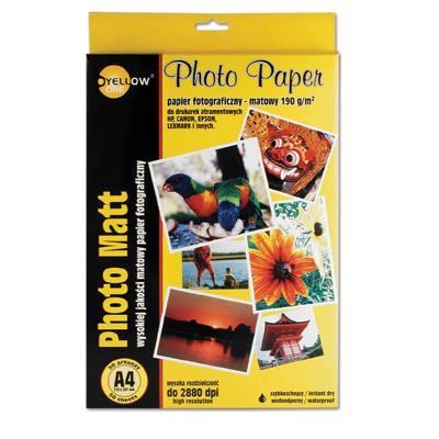Papier fotograficzny Yellow One A4, 190g (M)-814