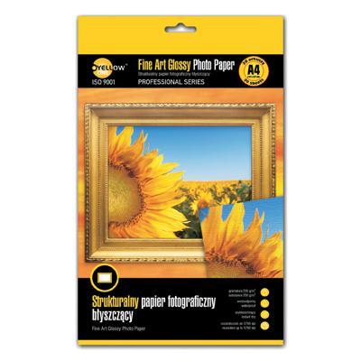 Papier fotograficzny Yellow One Fine Art A4, 200g -818