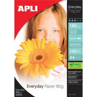 Papier fotograficzny Apli Everyday 10x15 180g (20)-808