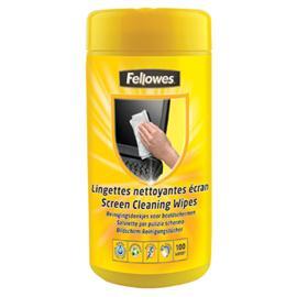 Ściereczki do czyszczenia ekranów Fellowes (100)