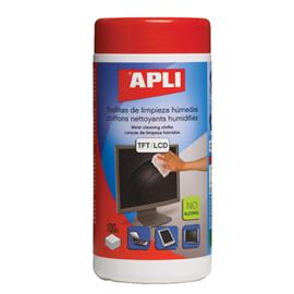 Ściereczki do czyszczenia monitorów Apli 11823