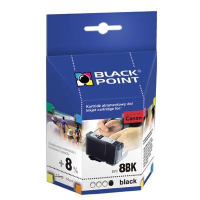 Tusz Black Point Canon CLI-8BK nabój czarny 14 ml-52