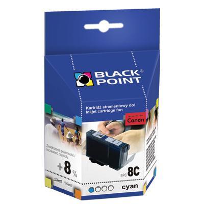 Tusz Black Point Canon CLI-8C nabój Cyan 14 ml-53
