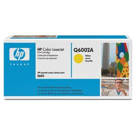 Toner HP Q6002A yellow 2000 str