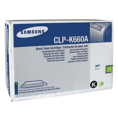 Toner Samsung CLP-660B czarny 5500 str-125