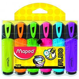 Zakreślacz Maped Fluo Peps (6 szt.)