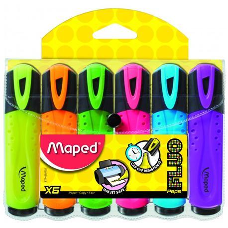 Zakreślacz Maped Fluo Peps (6 szt.)-14920
