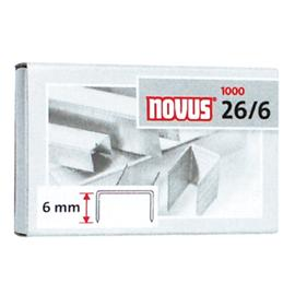 Zszywki 26/6 Novus 1000 szt.