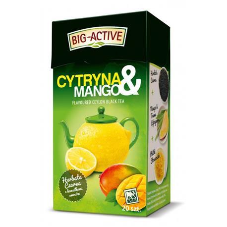 Herbata Big-Active czarna cytryna