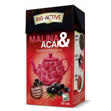 Herbata Big-Active malina
