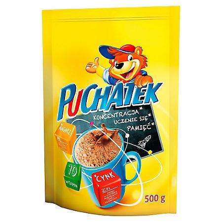 Kakao rozpuszczalne Puchatek 500g w torbie-15890
