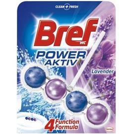 Zawieszka do WC Bref Power Activ 50 ml LAWENDA*
