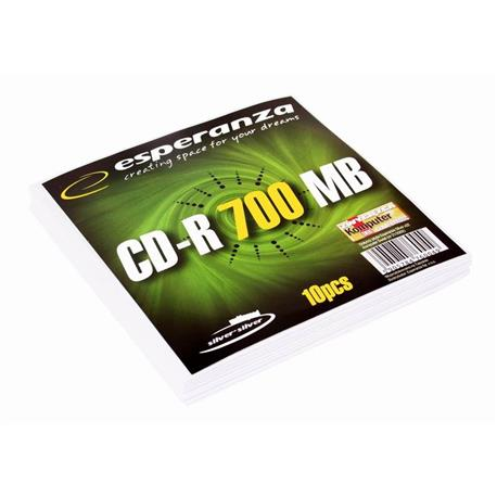 Dysk CD-R Esperanza 700MB 52X w kopercie-16047