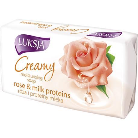 Mydło w kostce Luksja 90g Róża i Mleczko Proteinow-16071