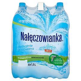 Woda Nałęczowianka delikatnie gaz. 1,5l (6 szt.)