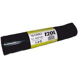 Worki 120l czarne LDPE Eko Datura (25)