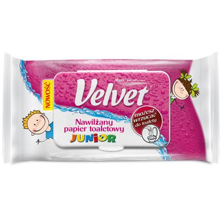Papier toaletowy Velvet nawilżany Junior-16171