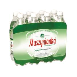 Woda Muszynianka niskonasycona CO2 0,6l (8szt.)