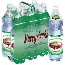 Woda Muszynianka niskonasycona CO2 1,5l (6szt.)