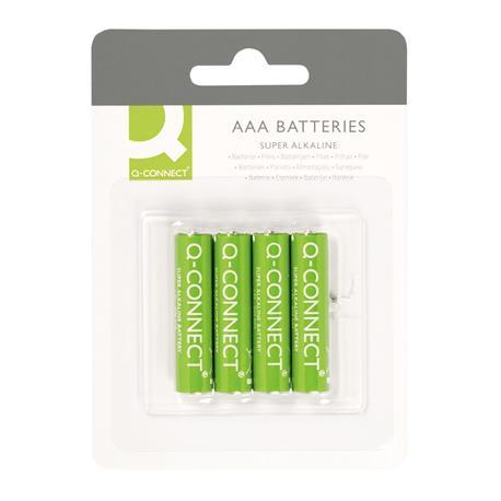 Baterie alkaliczne Q-Connect LR03 1,5V 4szt -11739
