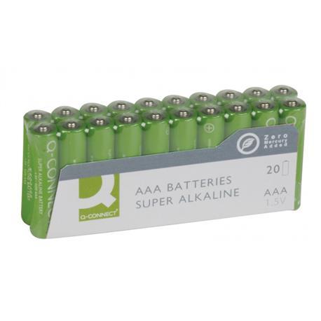 Baterie alkaliczne Q-Connect LR03 1,5V 20szt -16248