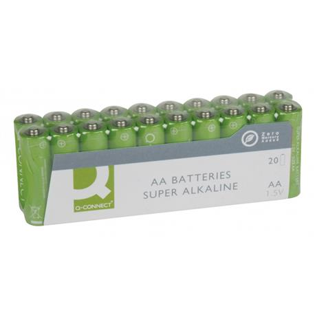 Baterie alkaliczne Q-Connect LR06 1,5V 20szt -16247