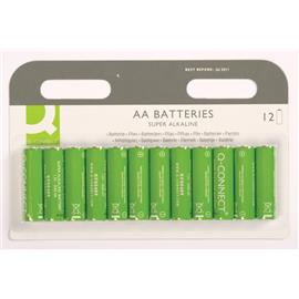 Baterie alkaliczne Q-Connect LR06 1,5V 12szt