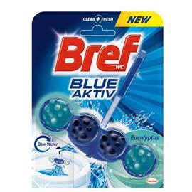 Zawieszka do WC Bref Blue Activ 50g Eucaliptus