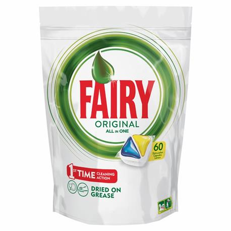 Fairy All in One kapsułki Oryginal Lemon 60 szt-15399