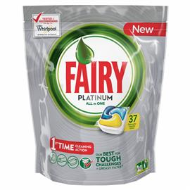 Fairy All in One kapsułki Paltinum Lemon 37 szt