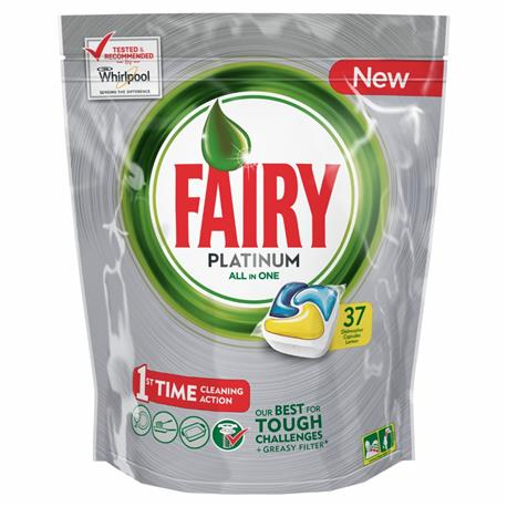 Fairy All in One kapsułki Paltinum Lemon 37 szt-16422