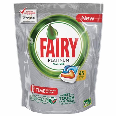 Fairy All in One kapsułki Platinum Orange 45 szt-16420