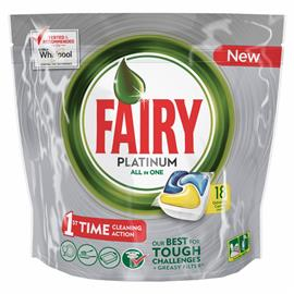 Fairy All in One kapsułki Platinum Lemon 18 szt