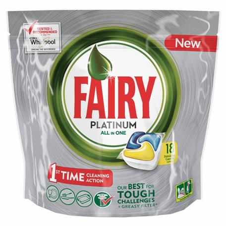 Fairy All in One kapsułki Platinum Lemon 18 szt-16427