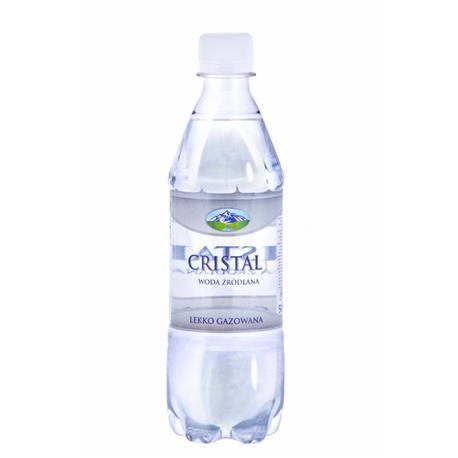 Woda Cristal lekko gazowana 0,5l (6 szt.) -17157