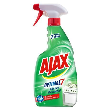 Płyn Ajax Optimal 7 Tłuszcz i Plamy 500ml*-17825